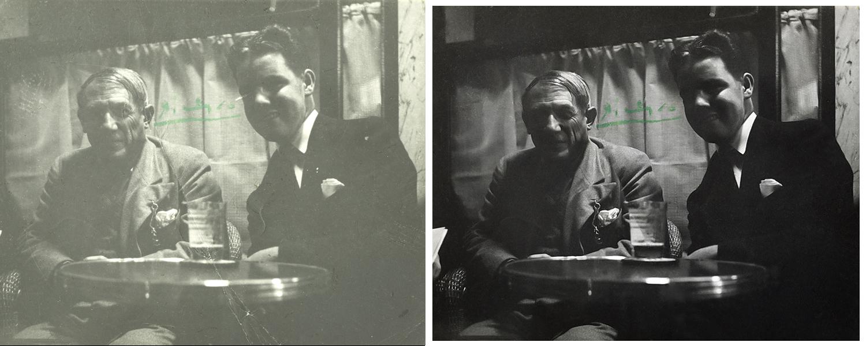 Pablo Picasso & Noel Quinn