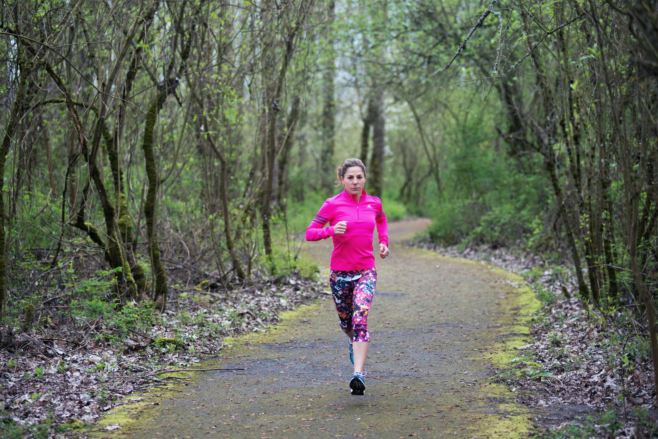 WHY I STARTED RUNNING: LAUREL