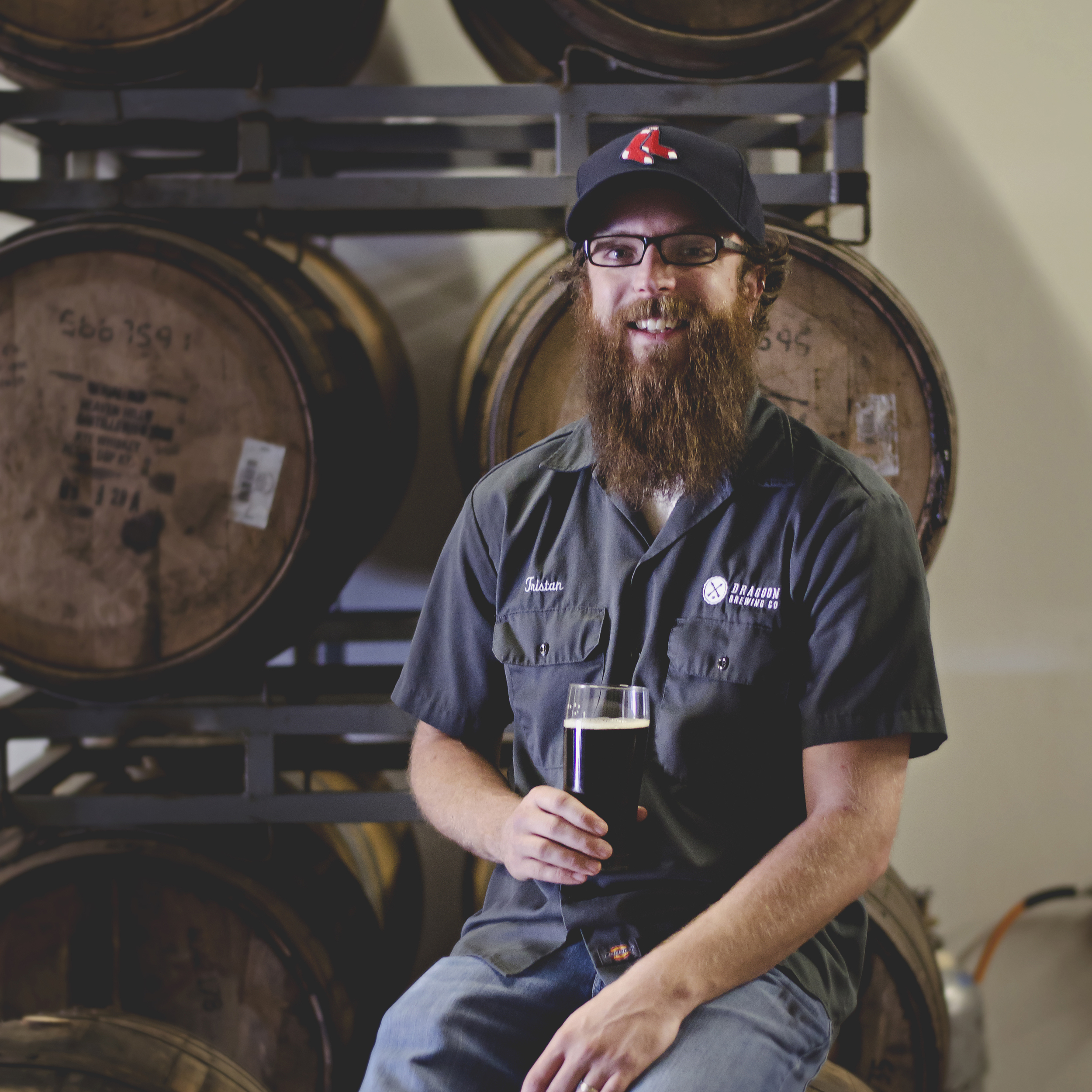 TRISTAN WHITE   FOUNDER / MANAGER  Tristan pretty much does whatever needs doing. Mostly, that means coordinating the Sales, Distribution and Taproom staff.