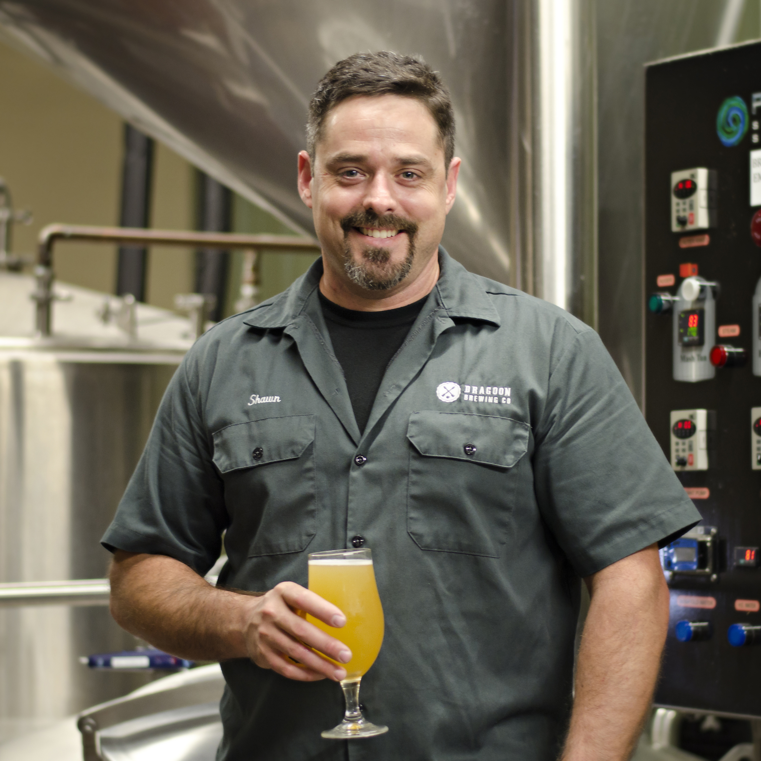 SHAWN COCHRAN   LEAD BREWER  As a brewer, Shawn specializes in boiling real good ('cause he's so hot) and figuring out how to do everything better, faster, smarter.
