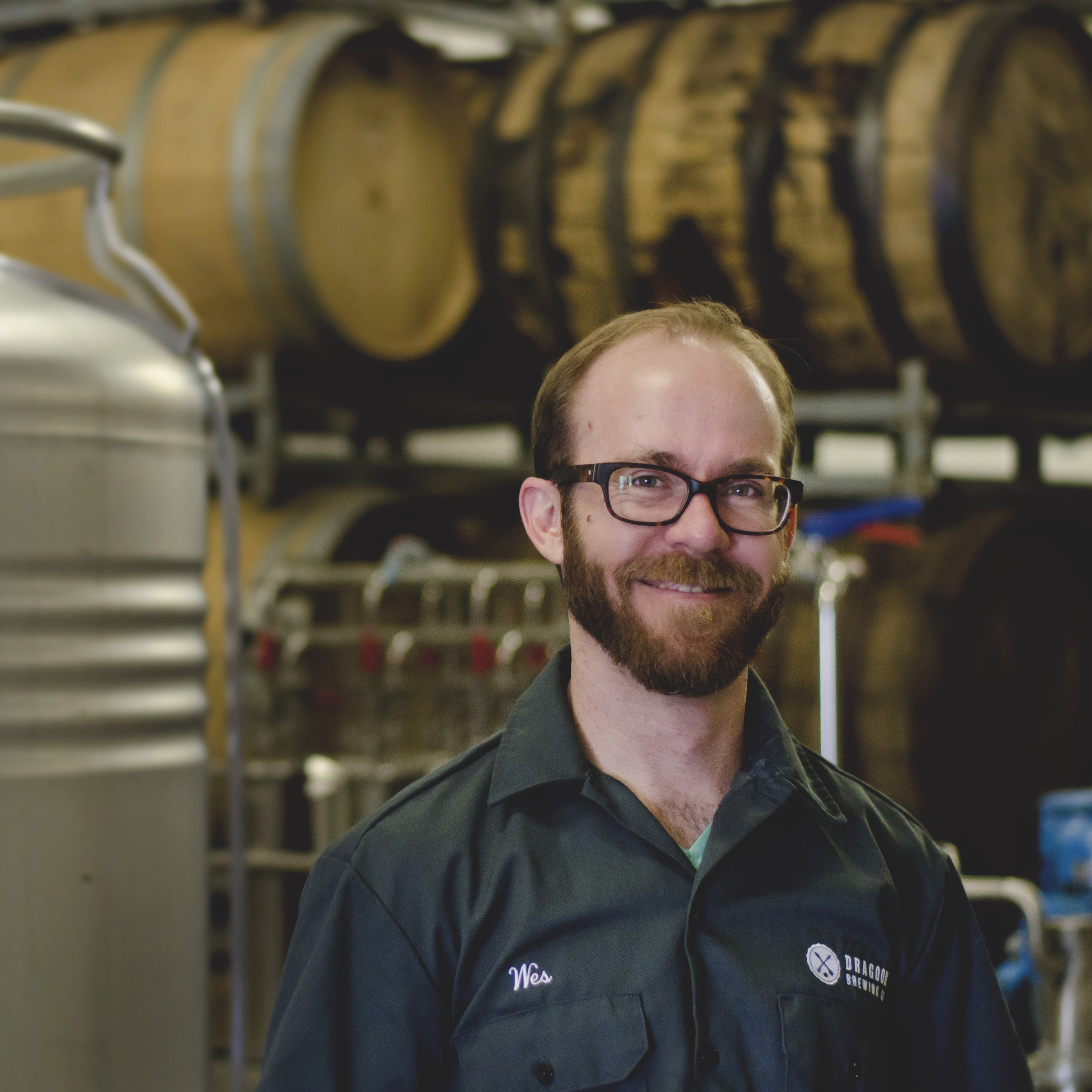 WES McCANSE   PRODUCTION MANAGER  Wes schedules our brews and filter runs, orders our raw materials, and fills in quite often in the brewhouse and cellar. You could say he juggles a lot of responsibilities.