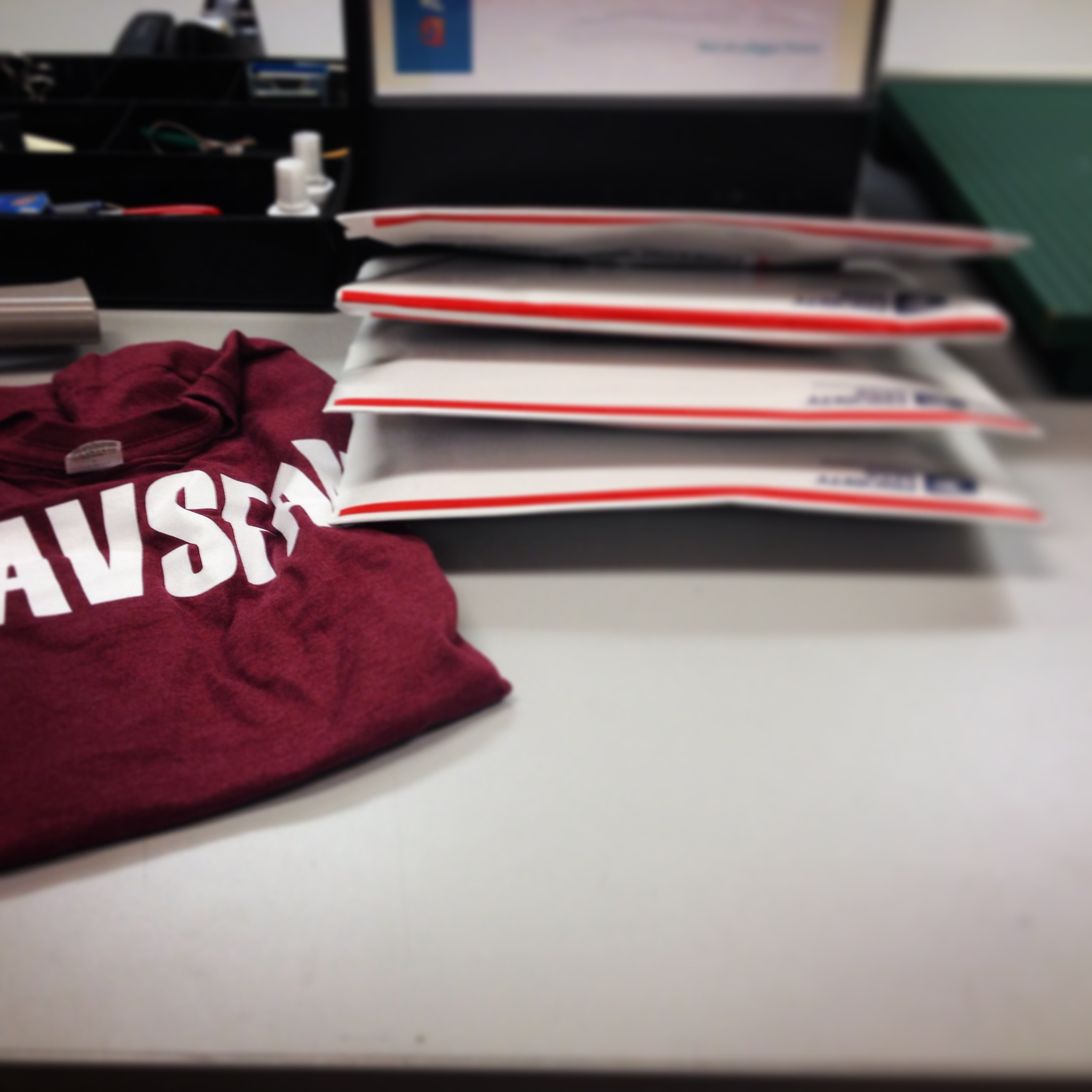 #AvsFam shirts ready to ship to adoring new owners!