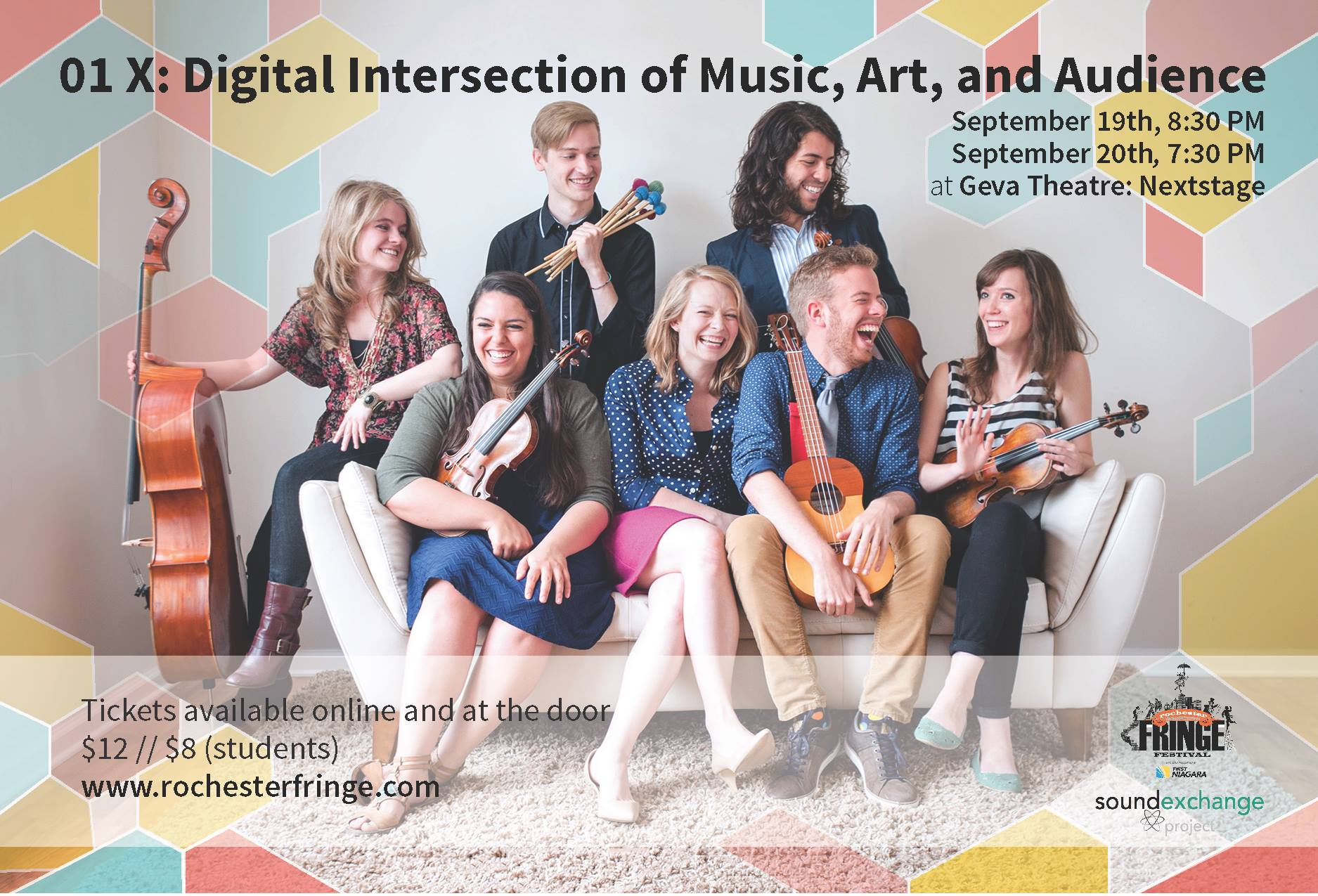 01X Project - Experience digital intersection of music, art & audience! Spent two years re
