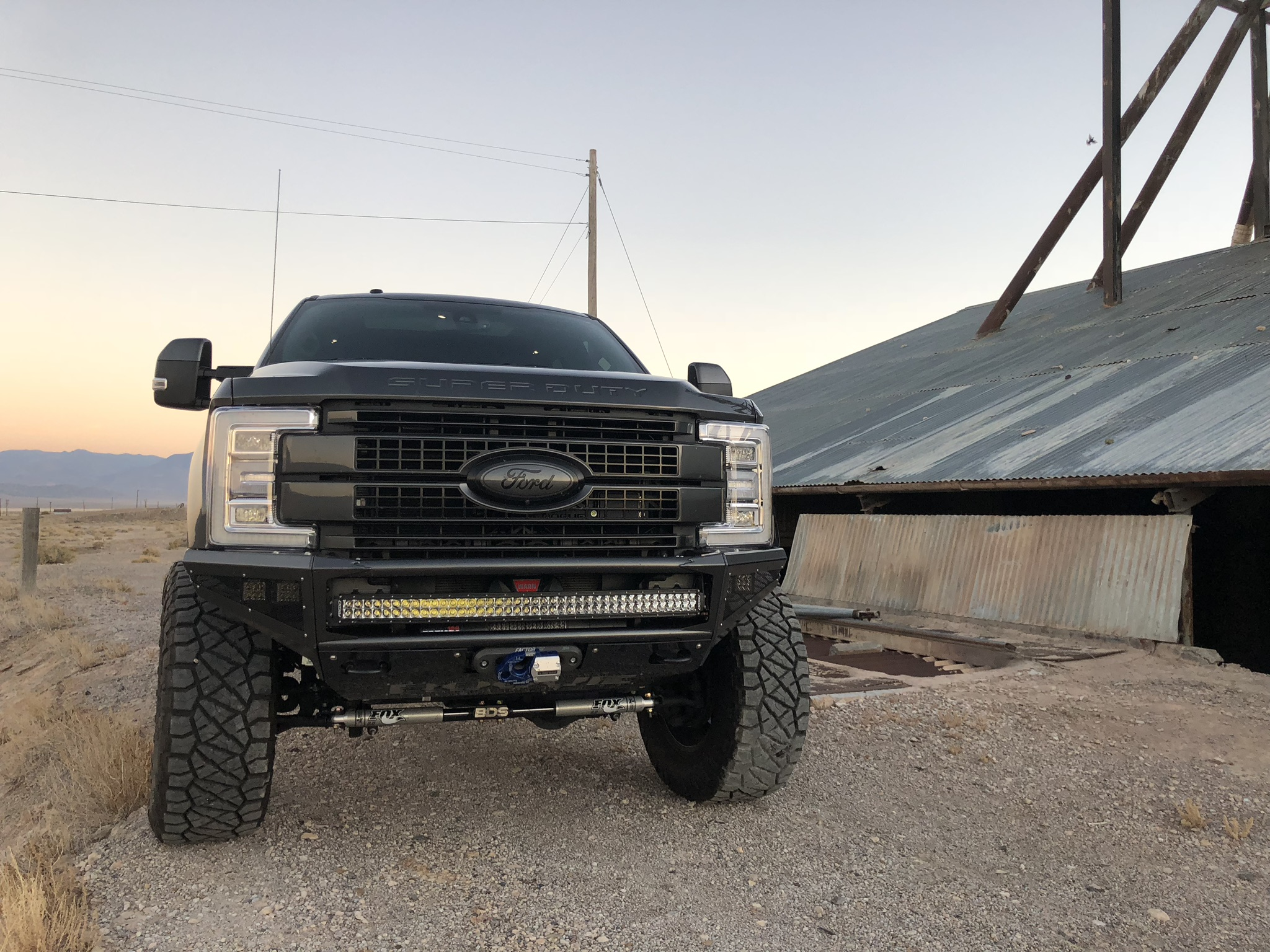 THE SUPERDUTY ENFORCER SERIES IS HERE - We have designed multiple styles but for now get your 250\350 and or 450 width bumpers that are completely modular. Accessories are endless, ask about custom width applications. If you need to get these shipped before powder coating and to arrive primed ready for your shop to paint please call (702) 781-7211 and leave a message, you can also email Info@rogueracing.com