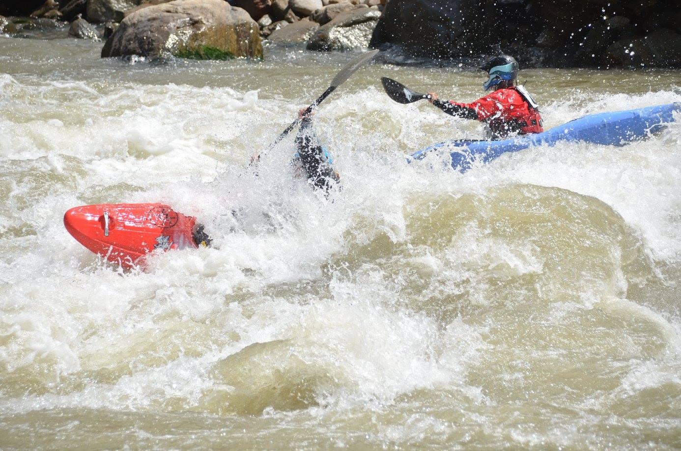 Chasing rivers around the world. Photo: Zaharias De Ugarte
