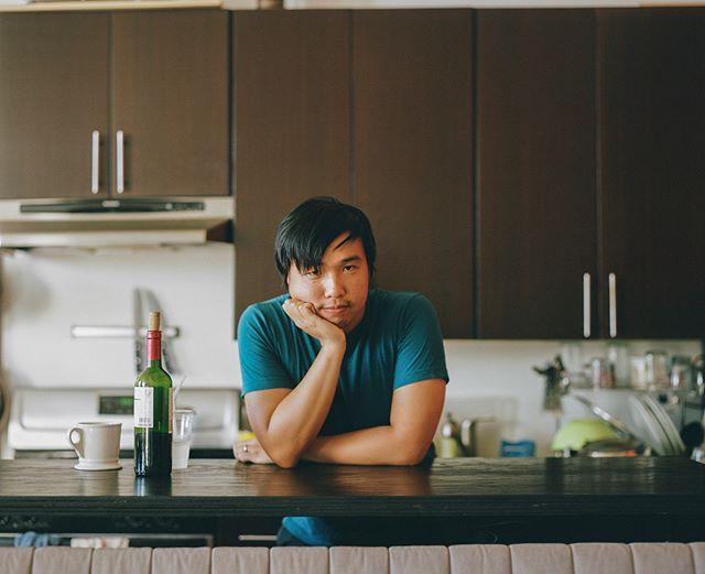 portraits of video game dev/NYU professor robert yang for @killscreenmagazine, brooklyn 2016.  #pentax67 #portra400 #makeportraits  #robertyang