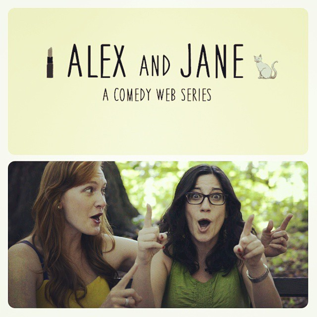 Alex and Jane; an improvised web series.