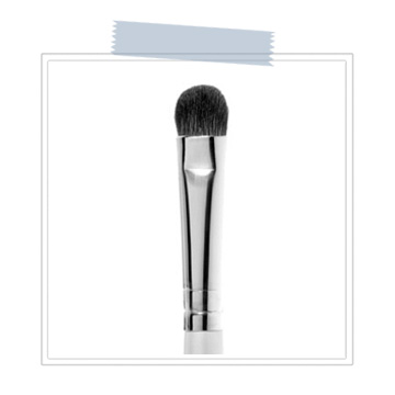 Small Makeup Brush  Use a soft (clean) makeup brush to work the baby shampoo mixture into your lash line and around your extensions. A gentle swirl motion will help to cleanse any difficult to remove eye shadow or liner.  Rinse your lashes thoroughly and gently pat dry.  BUY