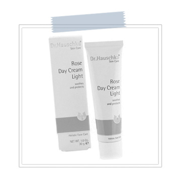 Dr. Hauschka Rose Day Cream  Looking for a great facial cream? This one's a winner! It helps to restore moisture while reducing redness and soothing irritated skin.  There is nothing better than framing a new set of lash extensions with beautiful, radiant skin!   BUY