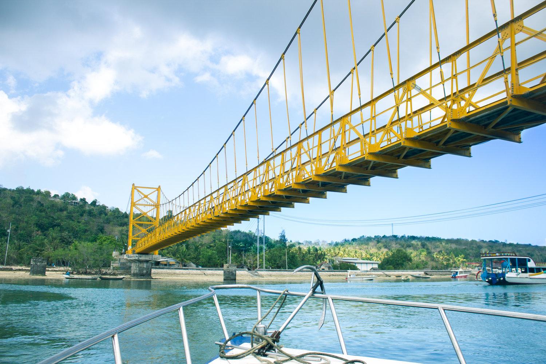 Yellow Bridge, Nusa Lembongan, Bali