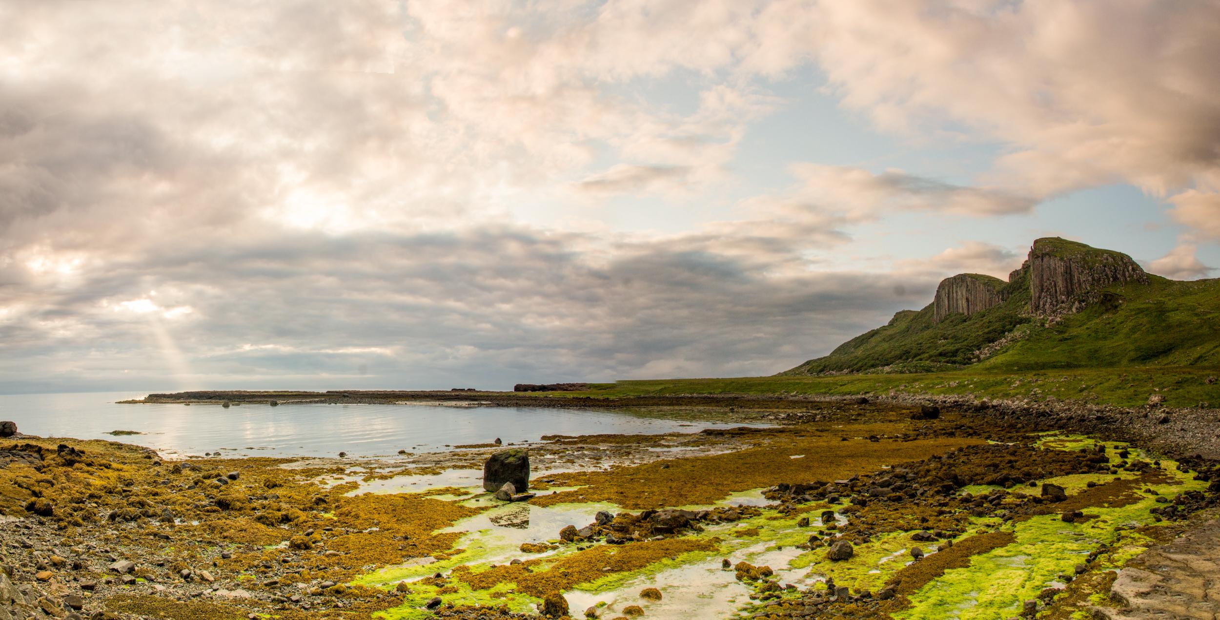 Staffin beach, Scotland