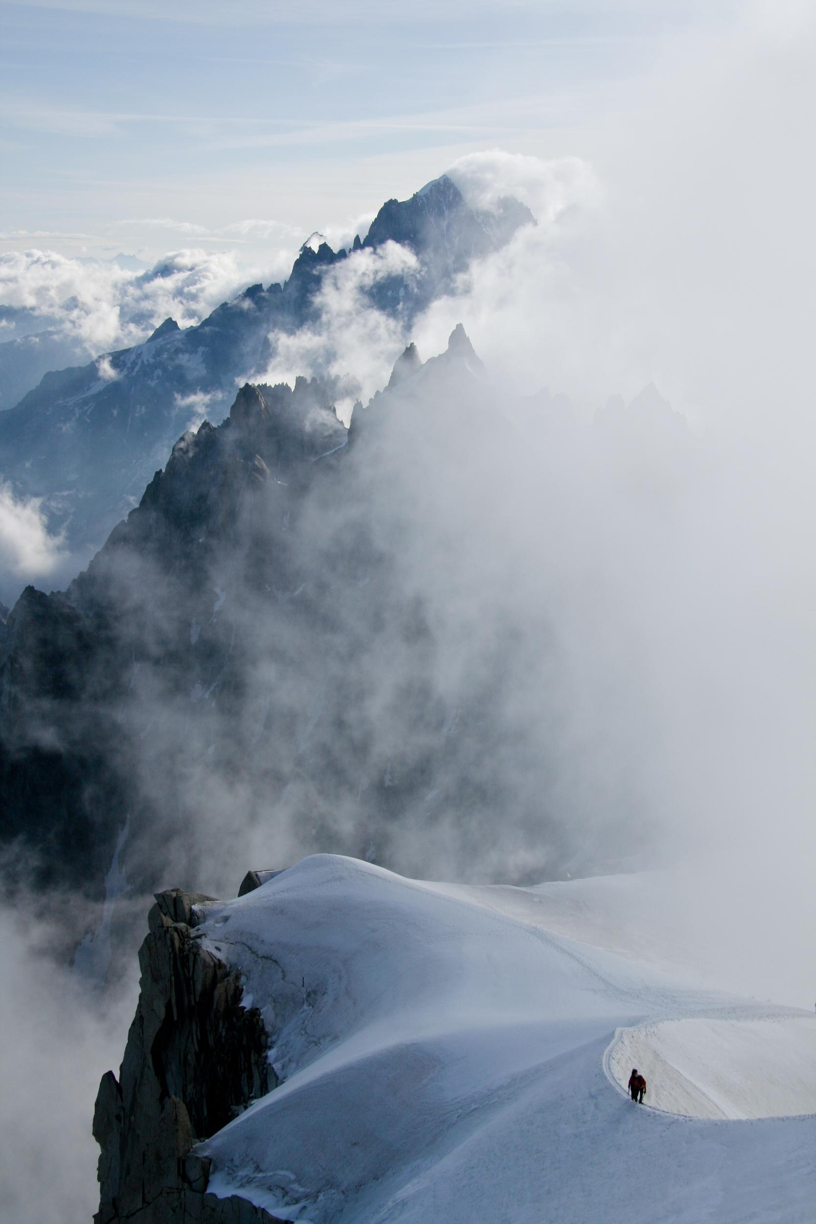 Mont Blanc, Chamonix, Switserland