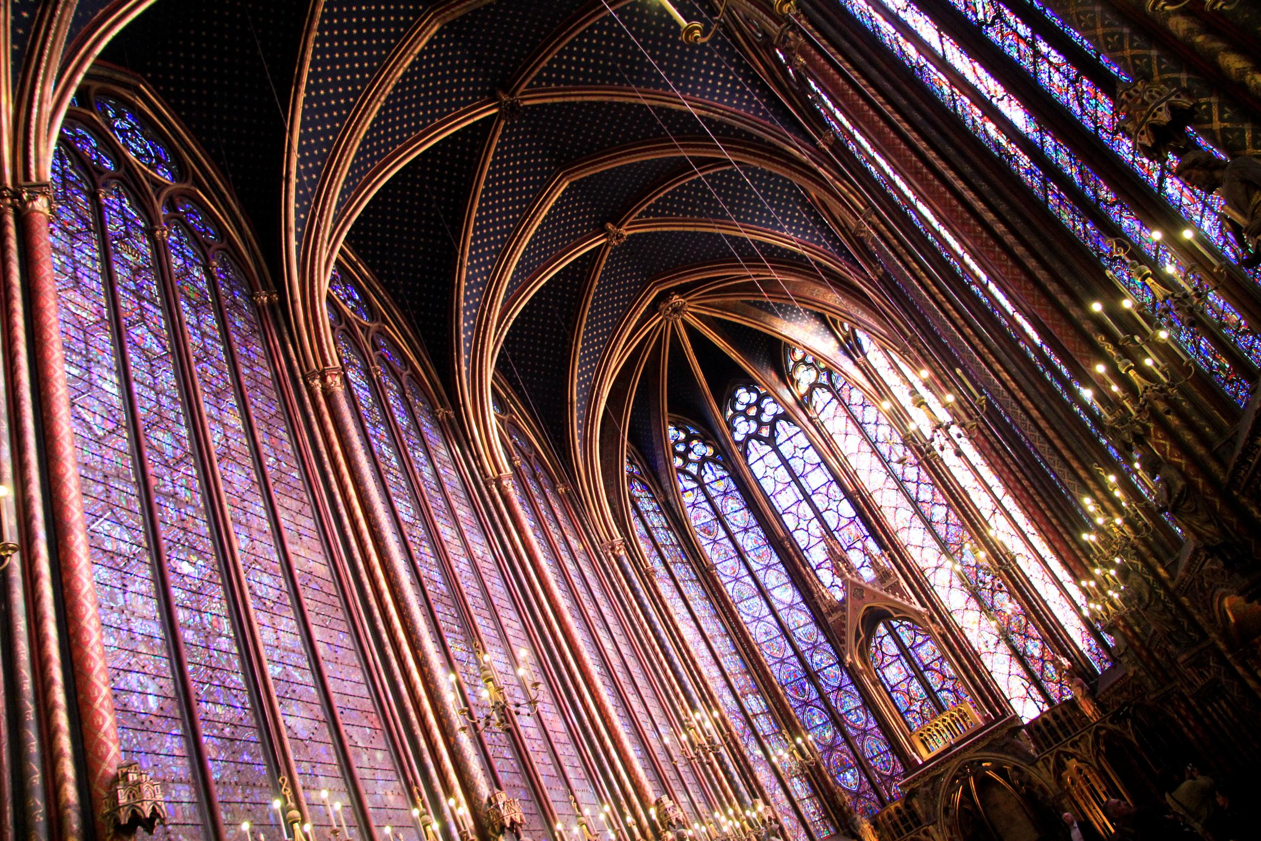 Saint Chapelle, church, Paris, France