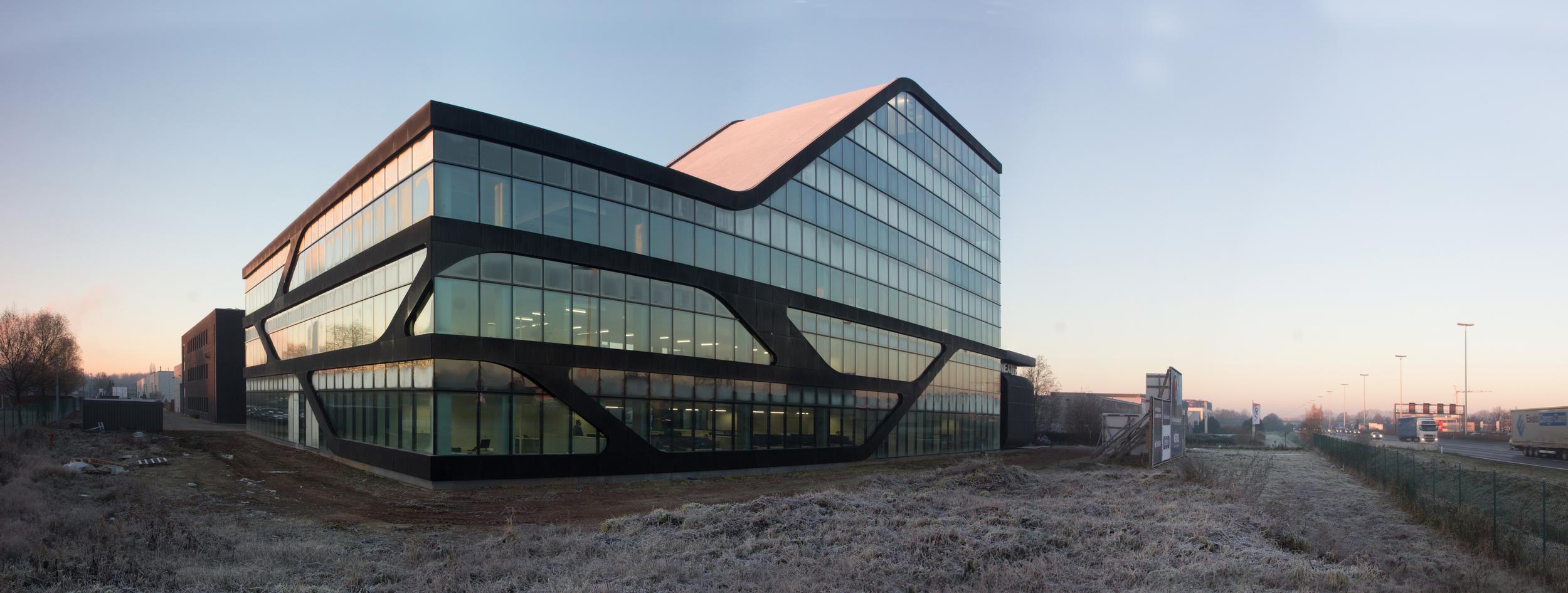 Nextel, telecom offices, Wommelgem, Belgium