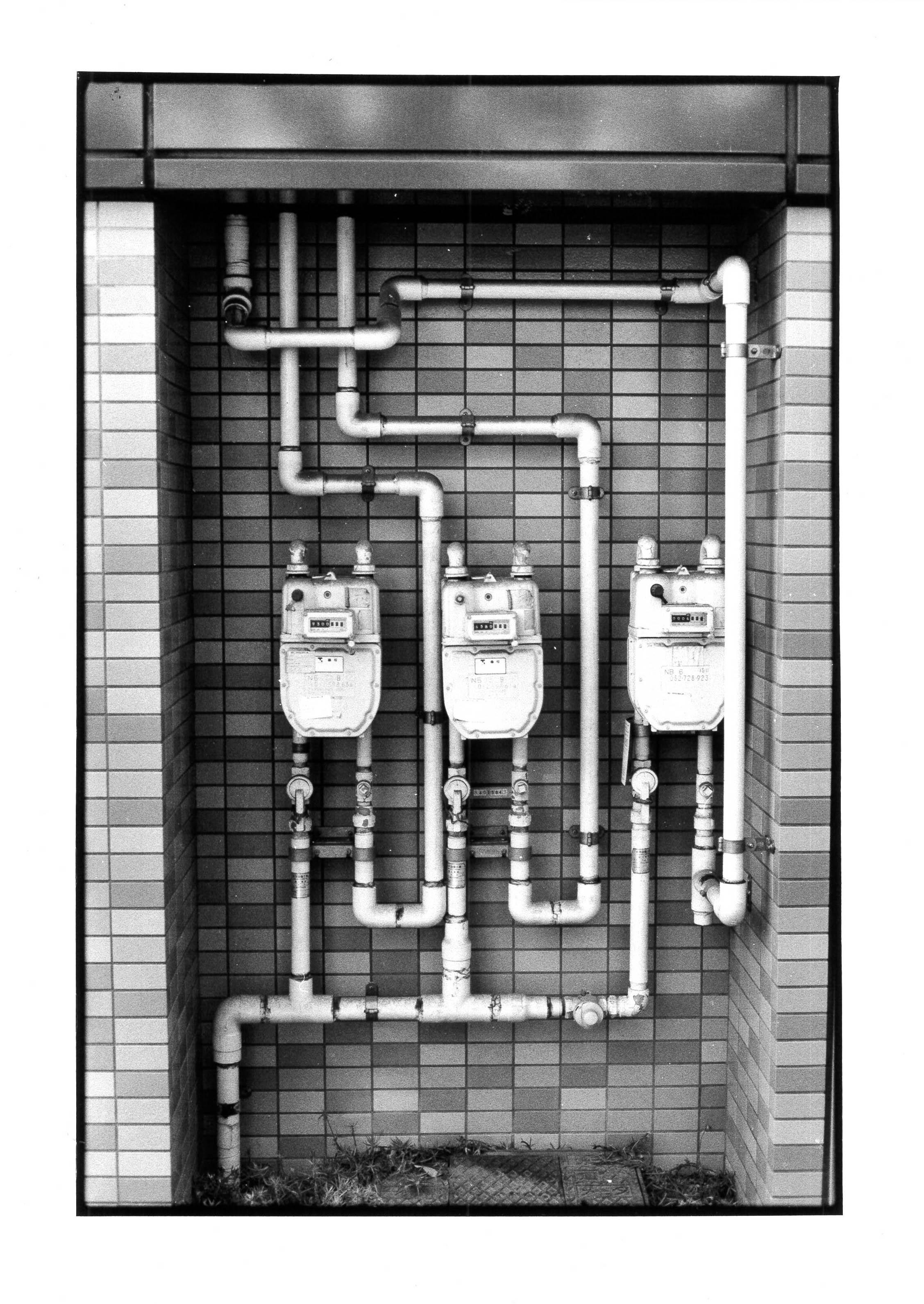 Compteurs, Tokyo 2010 24x36 cm