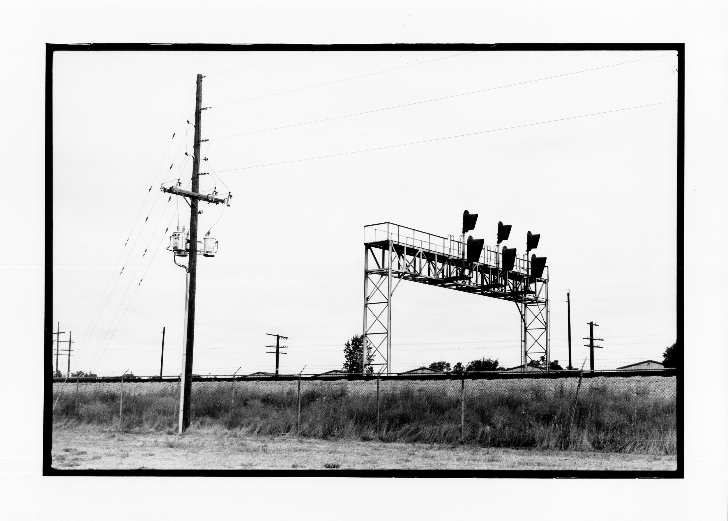 Train tracks, Wyoming 2010