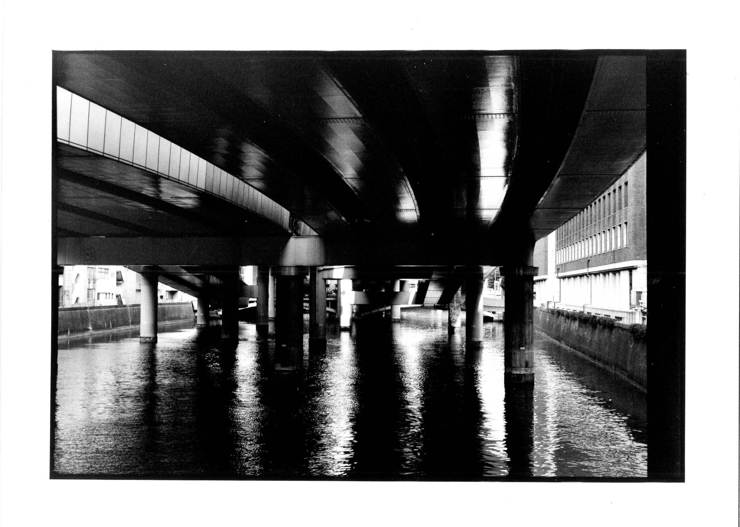 Tokyo river, 2010 24x36 cm