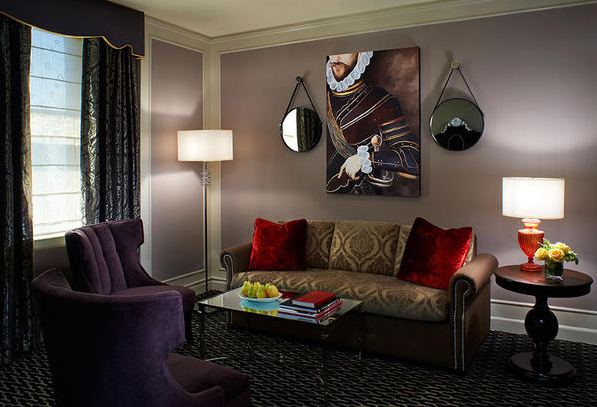 Guest Room Interior Living Space