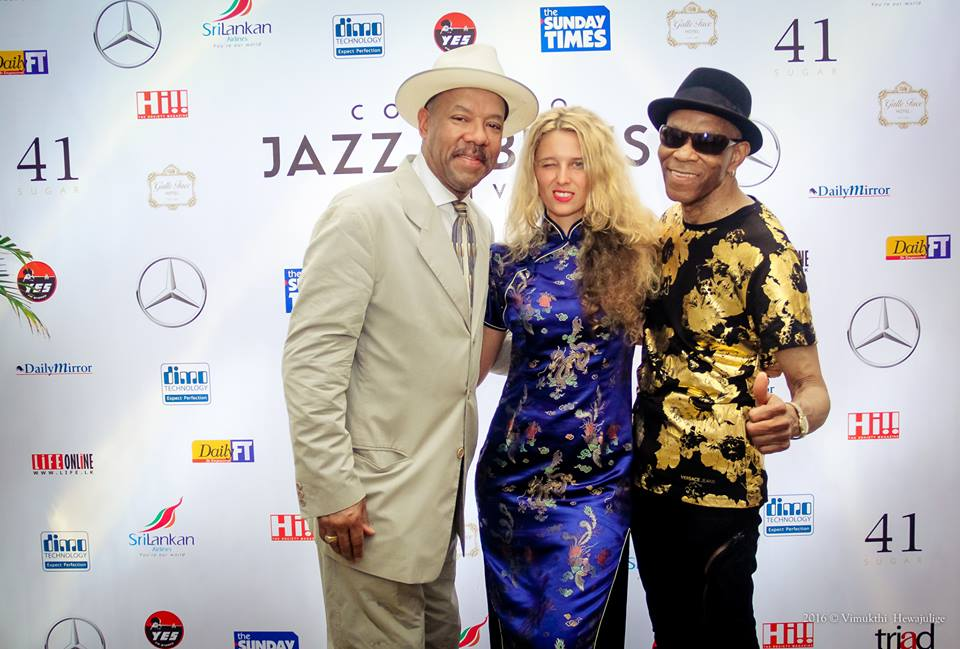 Michael Roach, Sannie Fox, Jimmy Thomas  Colombo Jazz and Blues Festival 2016, Sri Lanka