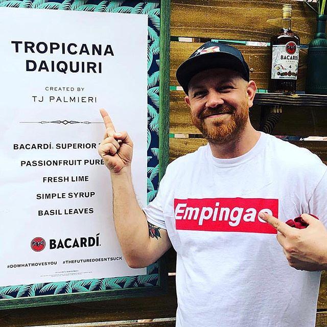 The Amigo @teeterator representing the home team and featuring his own signature drink for @bacardiusa  #amigoskatecuba #loves #rum #fun #skateboarding #sun