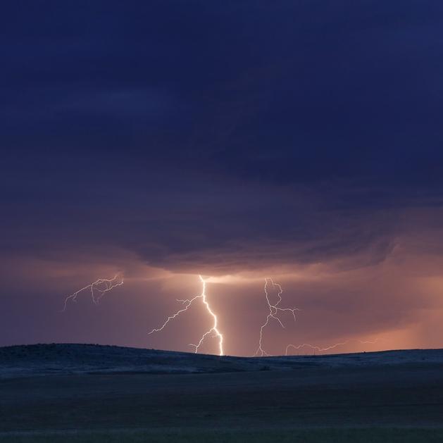 Lightning storm | Northern Montana