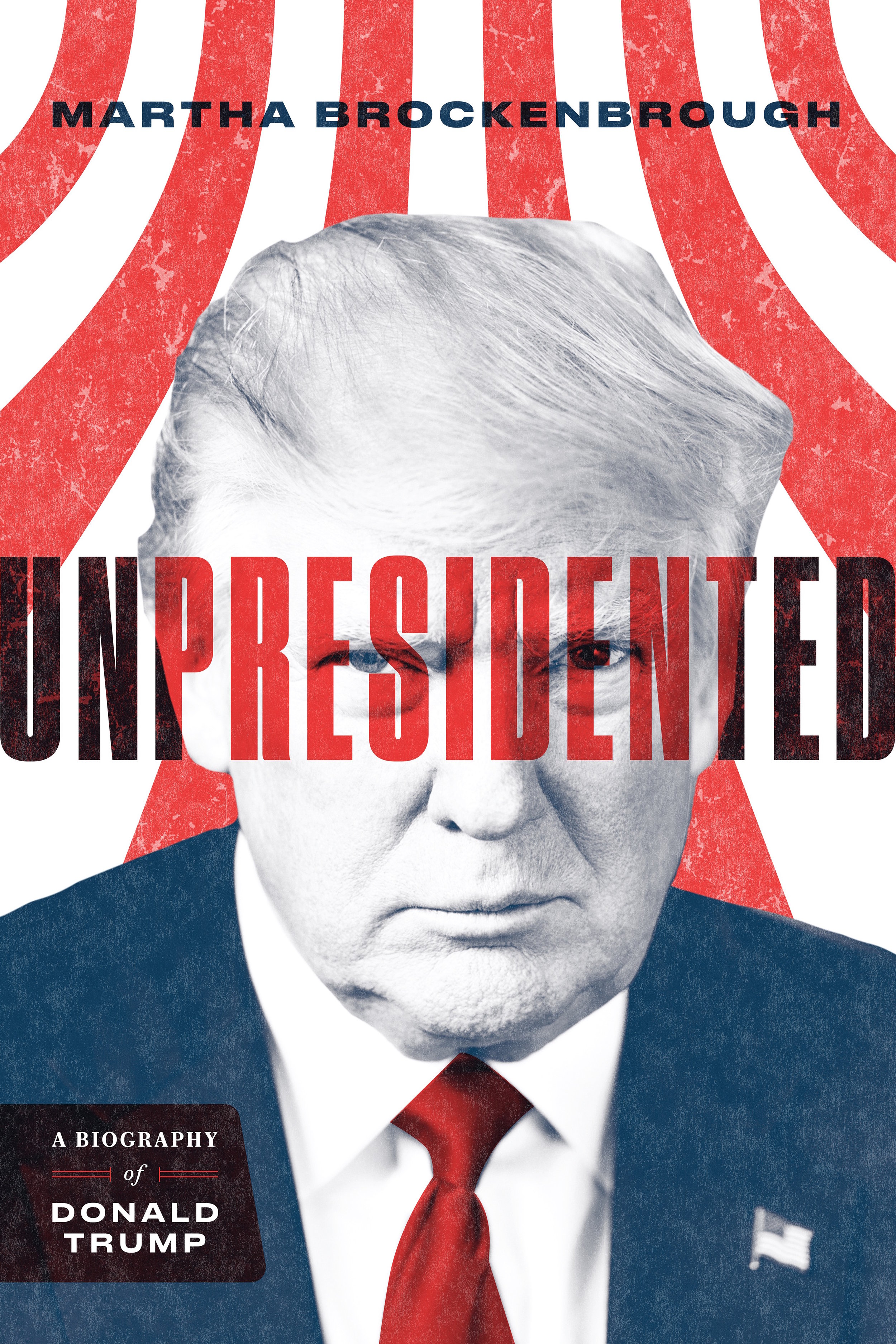 Unpresidented   An unvarnished biography of Donald Trump, his family history, his business history, and the key points of his campaign and first year and a half in office.