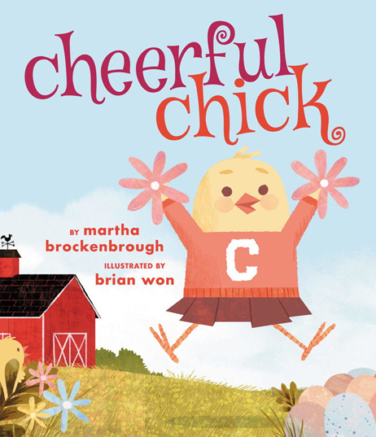 Cheerful Chick   A chick is born to cheer, but no one wants to join her squad. However will she keep the faith?