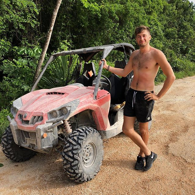 🏎Playa del Carmen, Mexico🏎 June, 2018 No place better for a summer vacation than southern Mexico (avioding Cancun, of course). This time, we decided to do it on a higher budget and actually staying in nicer places and trying out touristy things - such as crazy buggy rides in the jungle... . . . . . . . 📸 @gnargrimeslop @tamarahhansen #travelblogs #travelcouples #traveldames #travelgirl #travelescape #travelmoreworryless #longdistancerelationships #wonderlust #wanderlust #travelbloggers #travelblogger #travelfun #travelphotography #bestoftravel #travelcouplelife #travelcouplegoals #couplestravel #travelcouple #travelportrait #wanderlost  #playa #playadelcarmen #mexico