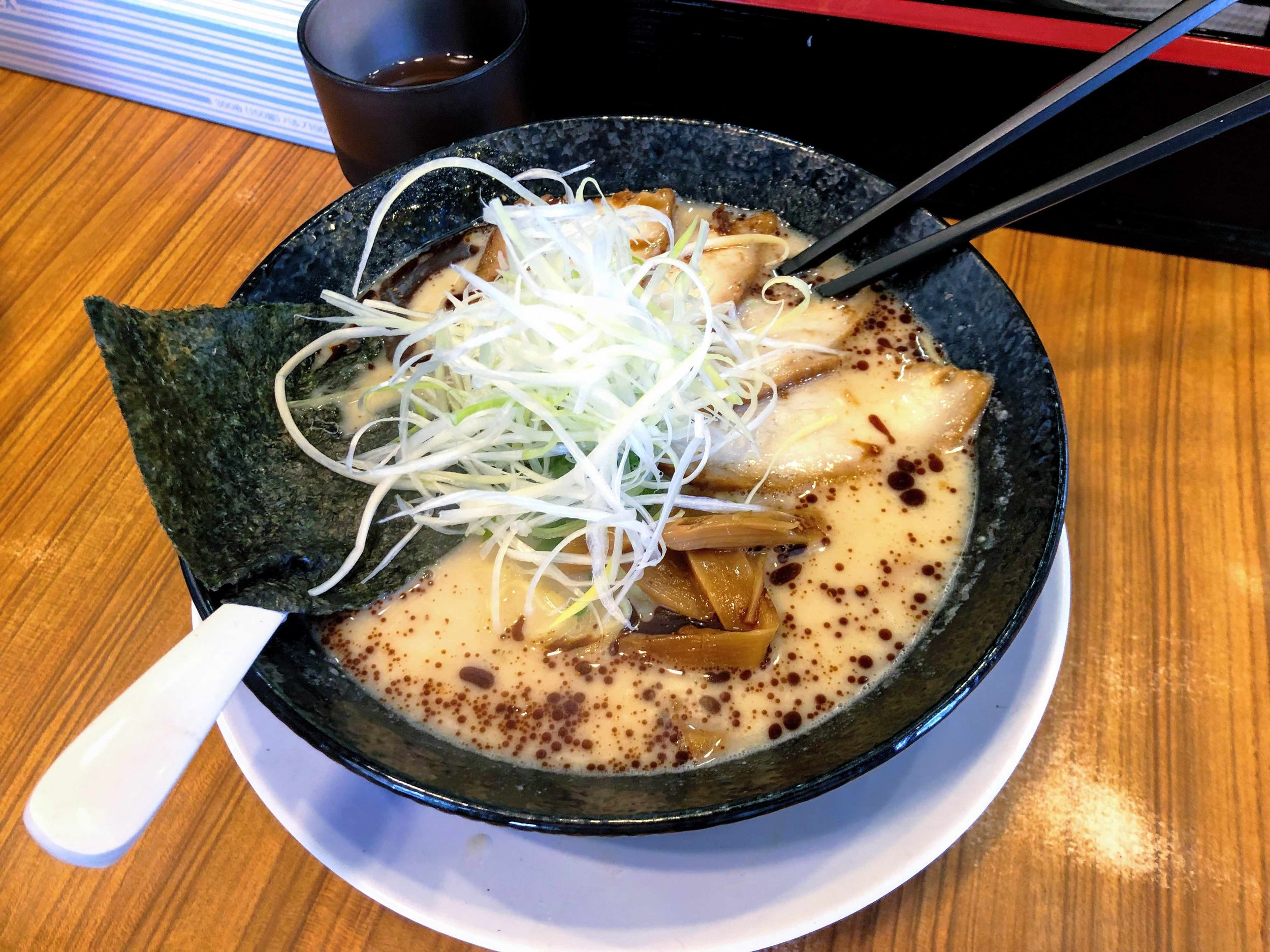Love at first sight: I was head over heals in love with what I'd call the best ramen in Osaka