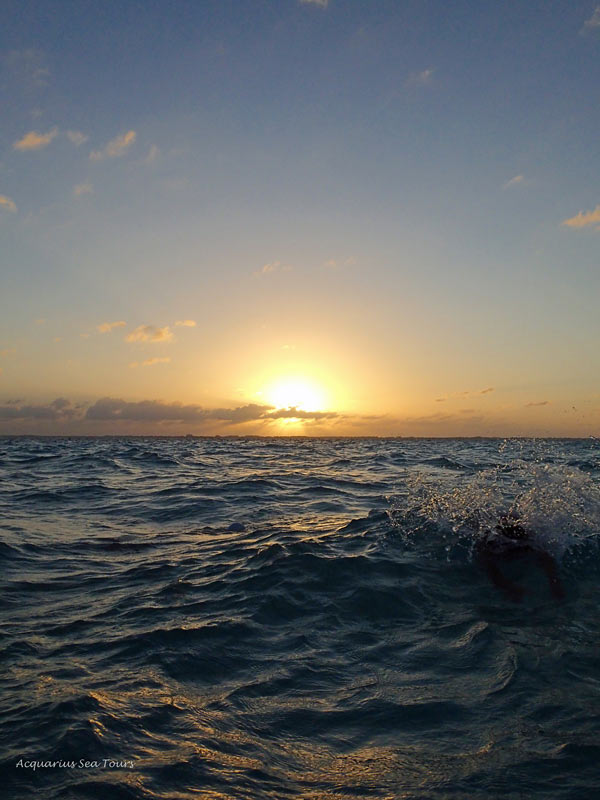 A Grand Cayman sunset