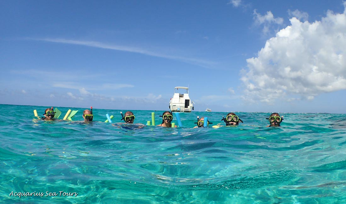 Grand Cayman vacation and a moment to remember - snorkelling the  reef