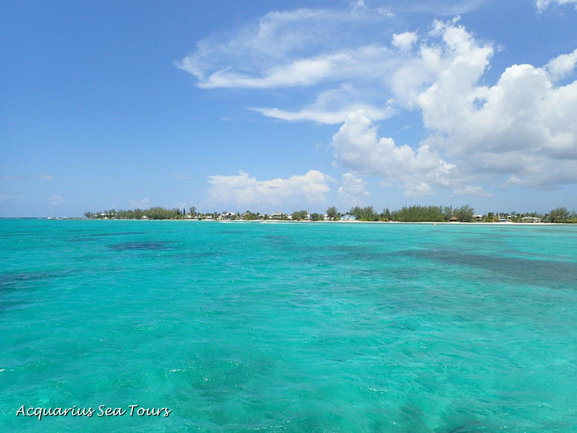 Approaching North Side in Grand Cayman