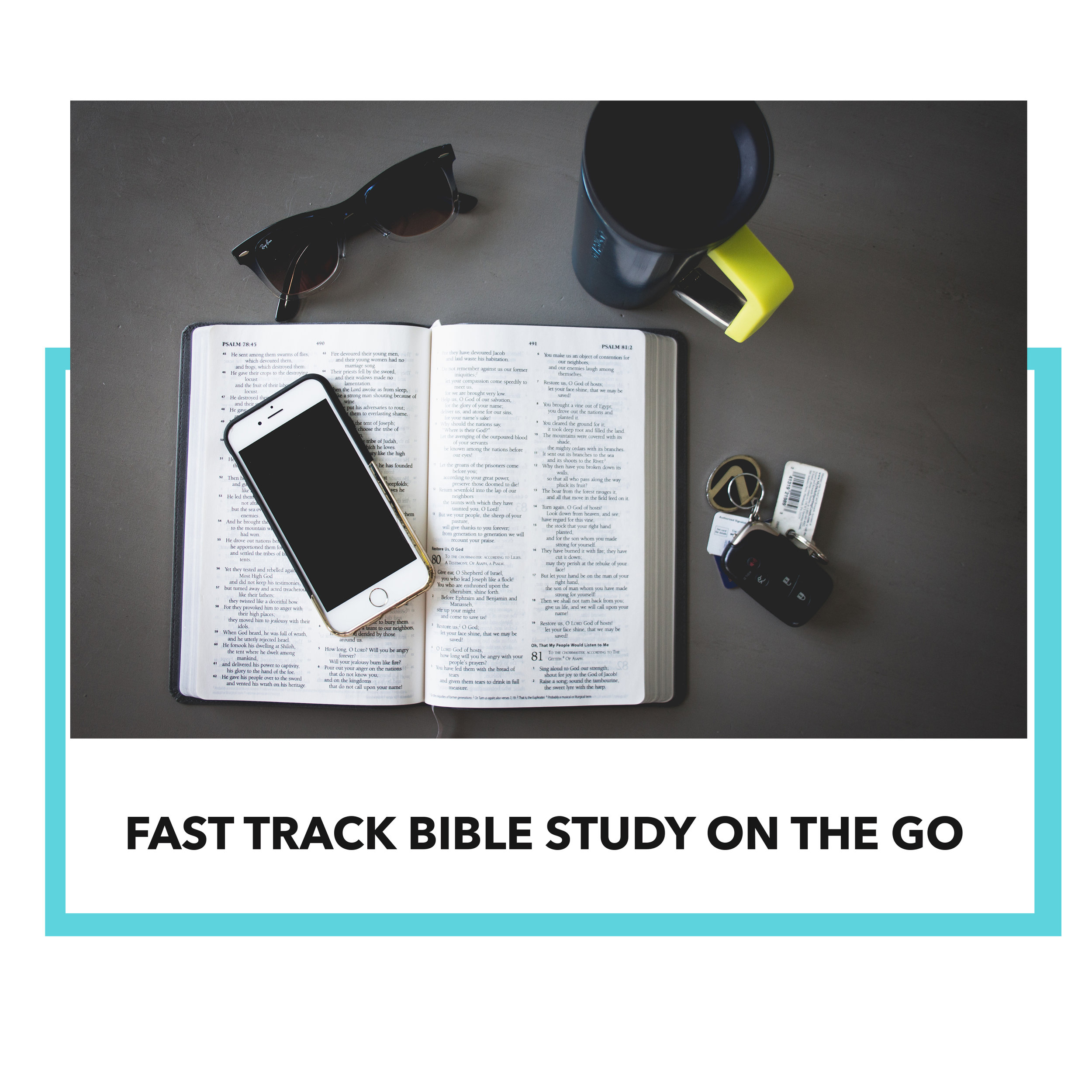 "<<  Fast Track Bible Study On The Go  -- clicking here will lead them to ""About Fast Track and Studies that are available.>>"