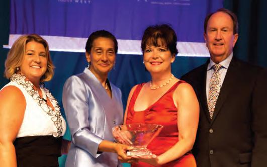 (Left to Right) Pamela Prince-Eason, Benita Fortner,Kathy Homeyer and Bill Alcorn
