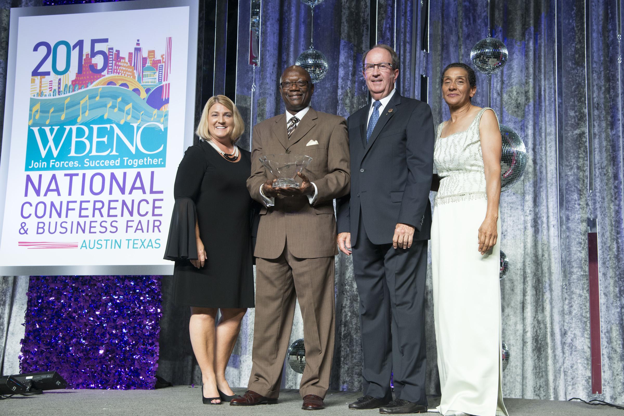 (Left to Right) Pamela Prince-Eason,  Michael Robinson , Bill Alcorn, andBenita Fortner