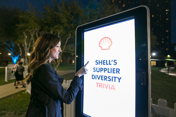 Thank you to our sponsor and Corporate Member Shell who provided some fun with the Shell Supplier Diversity Trivia game!