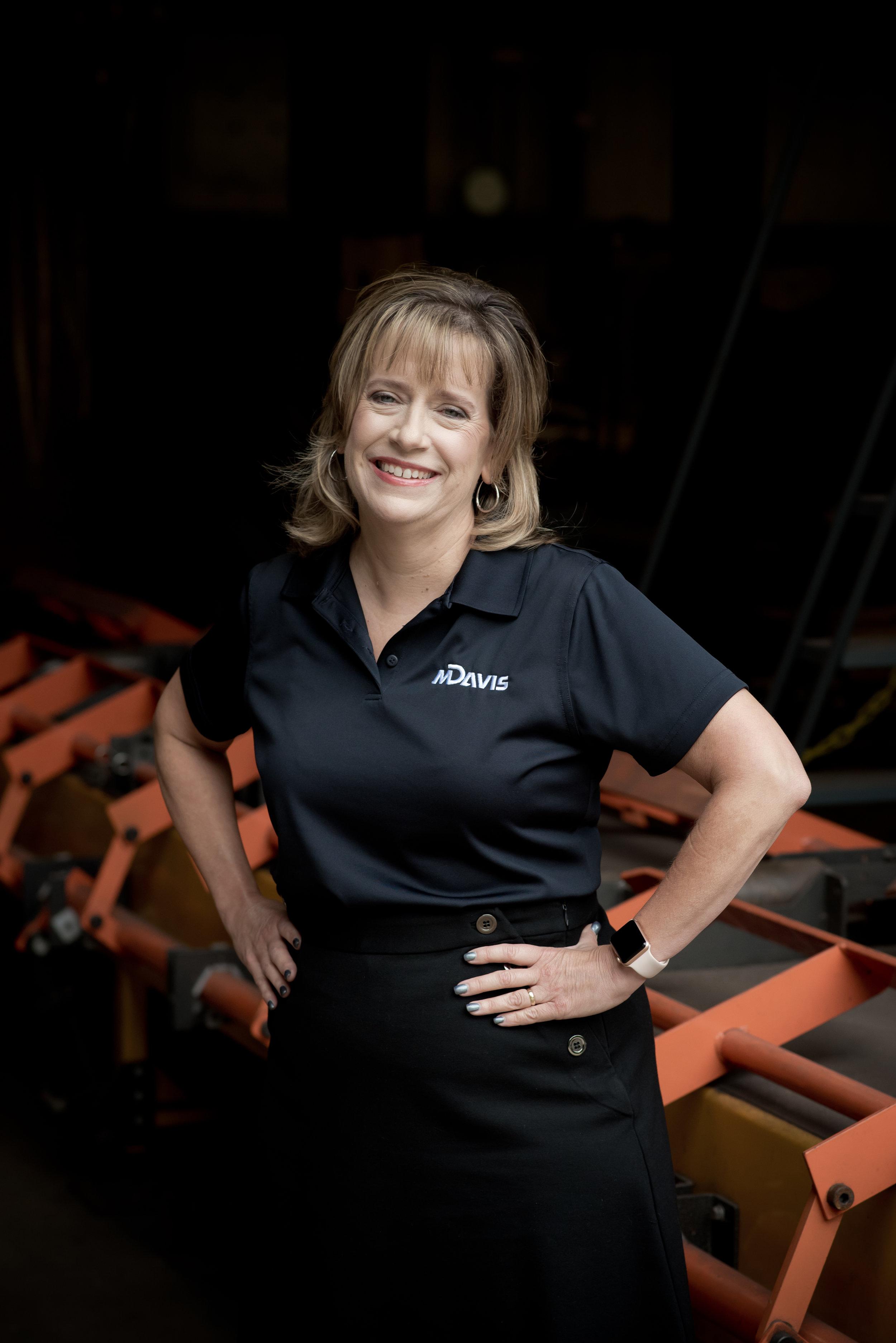 Peggy Del Fabbro, CEO of M. Davis & Sons