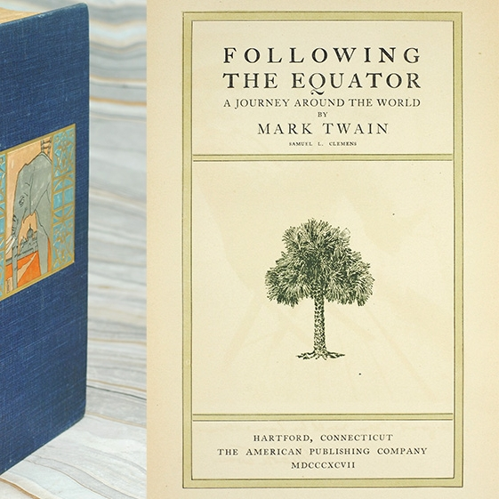 Following the Equator, A Journey Around the World by Mark Twain