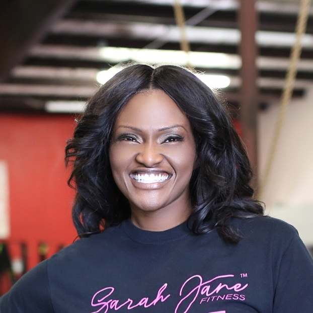 Sarah Makanjuola from Texas Christian University founder of  Sarah Jane Fitness