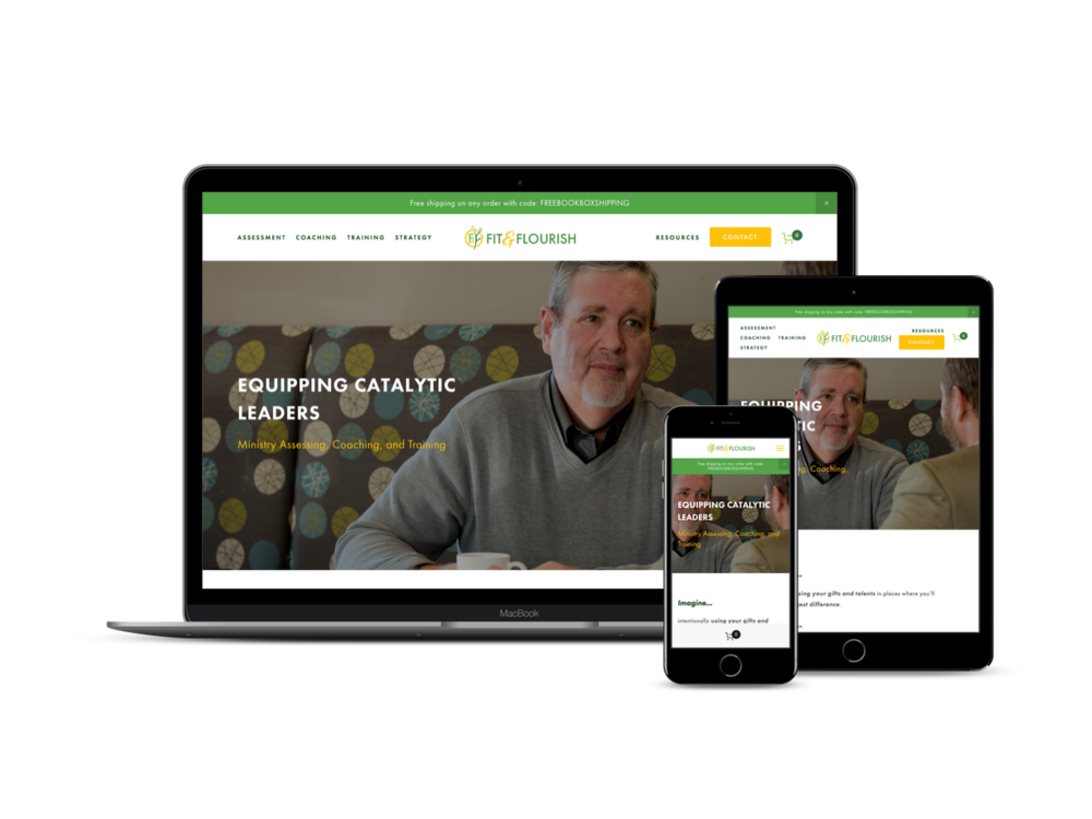 Before & After - Check out what we changed to help their website be more successful.