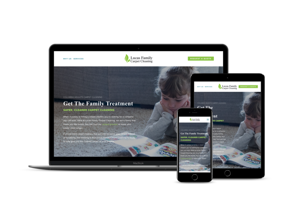 Before & After - Check out how we helped their website become squeaky clean for their growing customer family