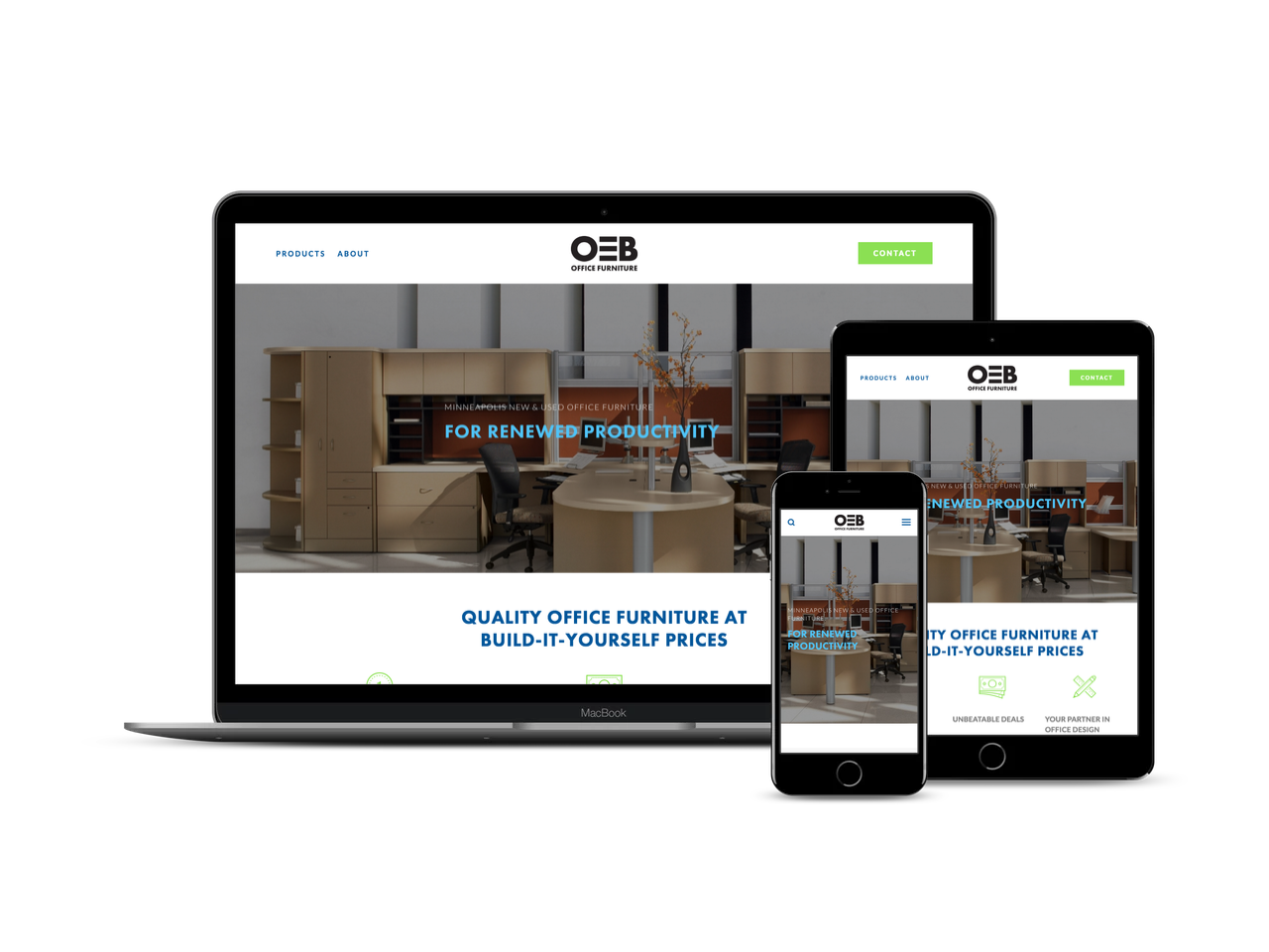 Before & After - Check out how we expanded and cleaned up their website