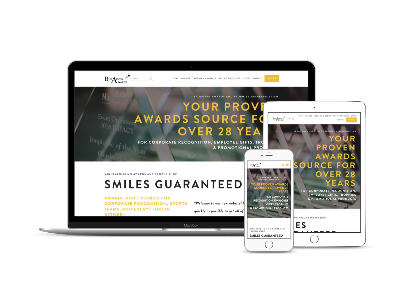 Before & After - Check out how we awarded their website with a facelift