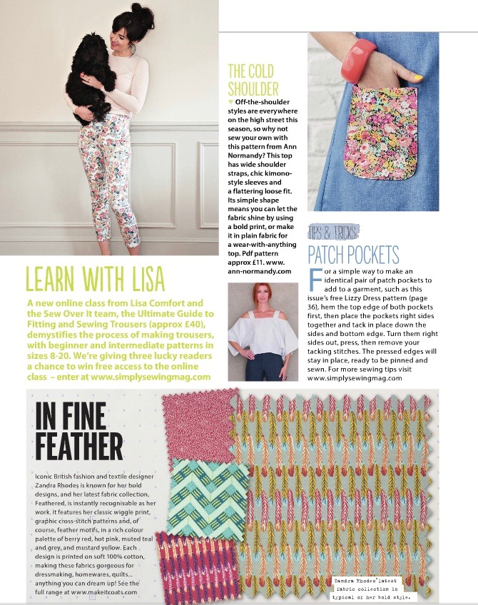 Simply Sewing Magazine - June 2016