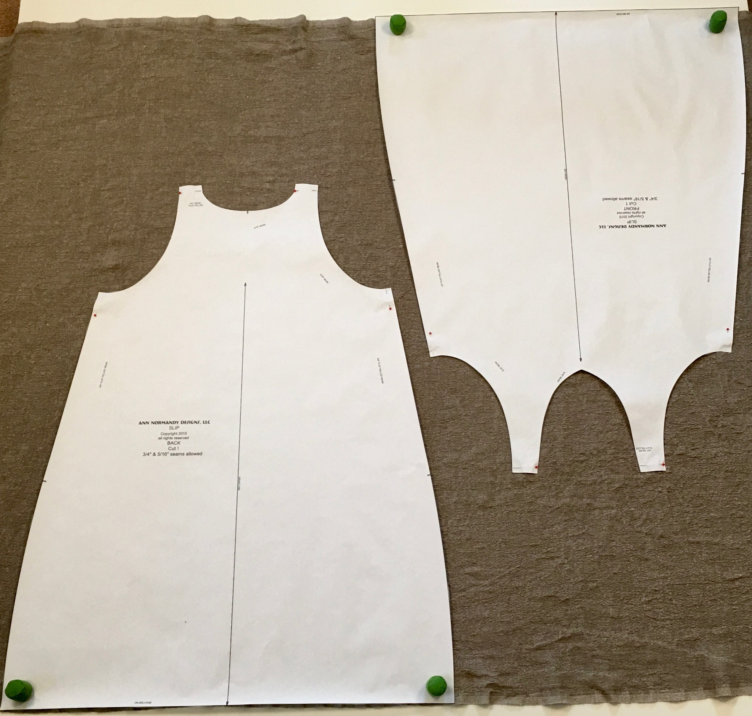 Ann Normandy Design Slip Dress Pattern