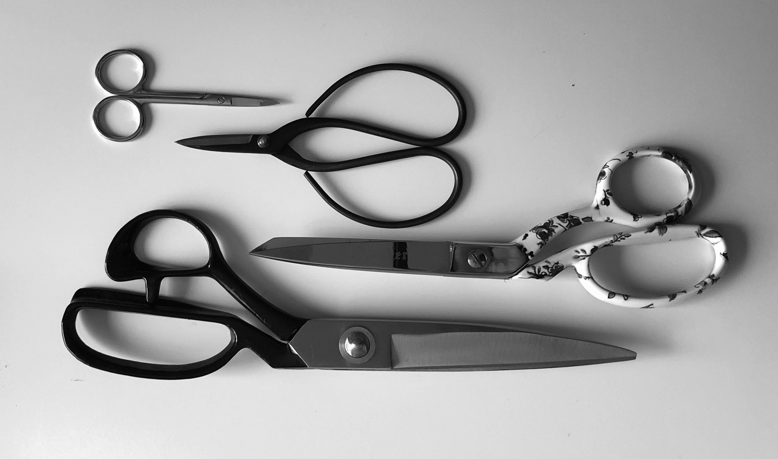Shears and scissors, there is a difference!