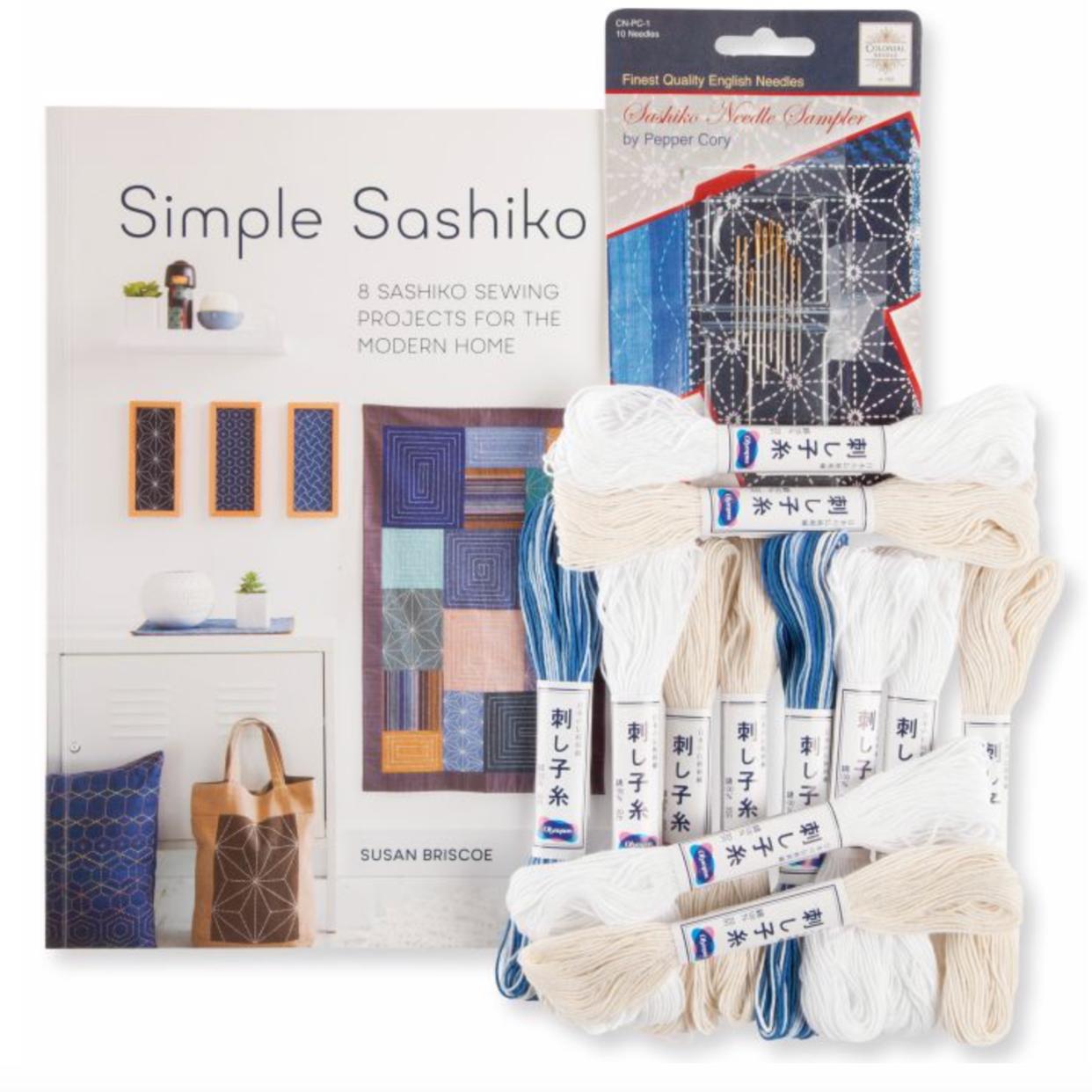 7. Simple Sashiko Starter Kit