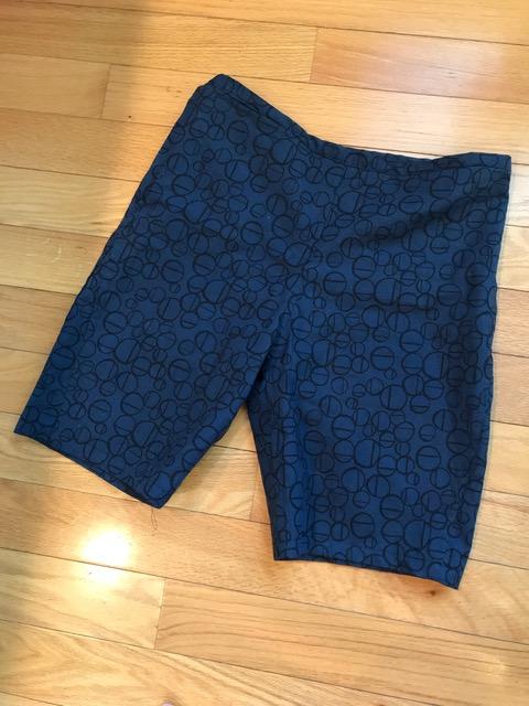 Ann's version of the Ann Normandy Design Bermuda Shorts.