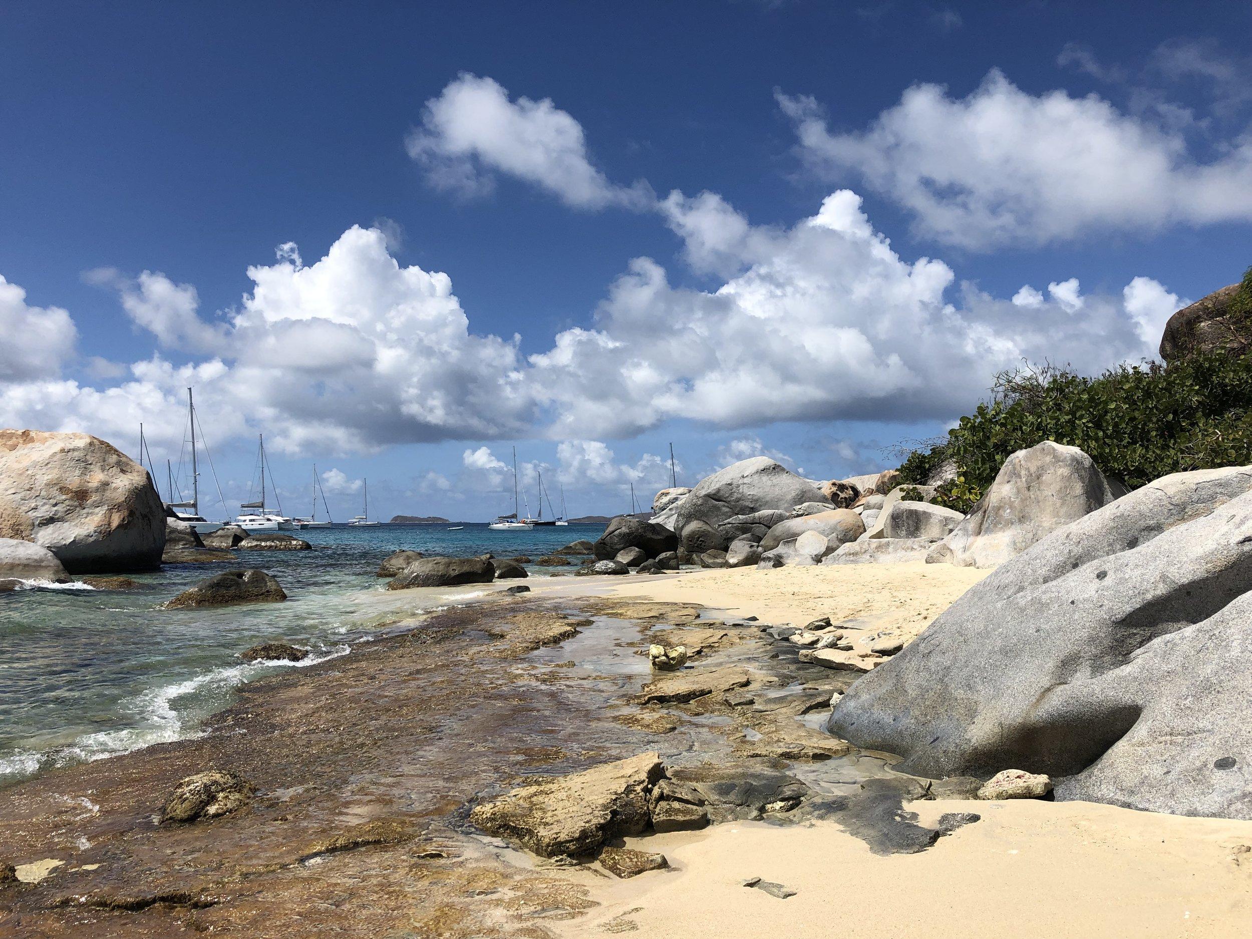The Baths on Virgin Gorda, British Virgin Islands