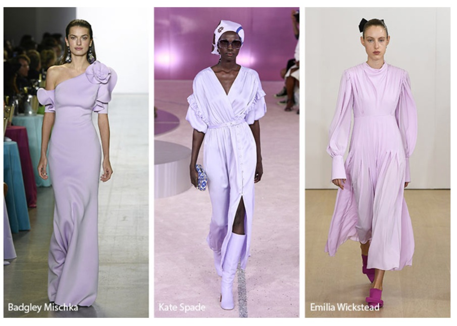 Glowsy.com, a terrific website showing all the runway trends. Check it out for all the color trends, including the Pantone Colors of the Year on the runways.